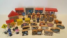 Wooden Train And Animal Accessories Very Good Condion Large Bundle
