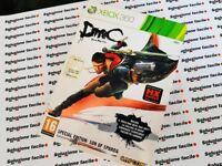 XBOX360 PAL ) ITA DEVIL MAY CRY DMC XBOX 360 LIMITED COLLECTOR'S EDITION OTTIMO!