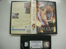 Tin Cup Kevin Costner, Rene Russisch 1996 VHS Italienisch