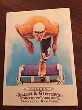 2009 Topps Allen & Ginter's #276 - Michael Phelps - Swimming in Top Loader