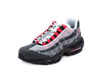 "Nike Mens Air Max 95 ""We Love Nike"" Print Black/Crimson AQ0925-002"
