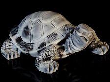 "Turtle Marble Stone Figurine Animal Sculpture Russian Art Miniature Statue 2.8"""