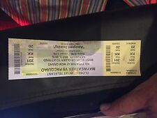 Floyd Mayweather Manny Pacquiao Fight Ticket Stub MGM Grand Used