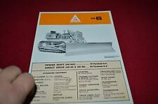 Allis Chalmers HD-6 Crawler Tractor  Dealer Brochure YABE11 Ver43