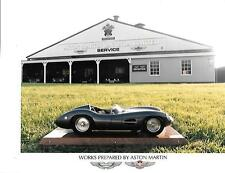"ASTON MARTIN LE MANS WINNER 1959 SCALE MODEL PRESS/PUBLICITY PHOTO ""BROCHURE"""