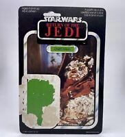 Vintage Star Wars Return Of The Jedi Chief Chirpa Cardback 1983 Kenner Palitoy