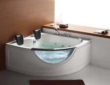 "STEAM PLANET CHELSEA M-G015 59""x59""x30"" TWO PERSON CORNER WHIRLPOOL BATHTUB"