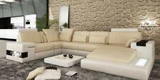 Big Sofa Wohnlandschaft Ledersofa Polster Sitz Ecke Couch Garnitur Sofas Ecksofa