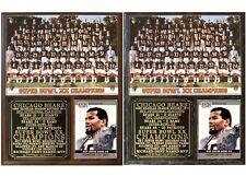 1985 Chicago Bears Super Bowl Xx Champions Photo Card Plaque