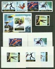 Central African Rep. 1976 Olympics Skiing/Figure Skating/Ski Jump imperfs/deluxe