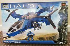 Mega Bloks Halo Blue Series Falcon - 450pcs Set 97204
