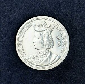 1893~Isabella Commemorative Silver Quarter ~Brilliant Uncirculated Super Gem!!