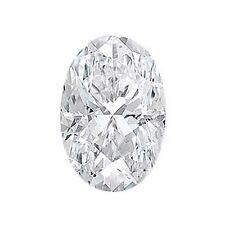 1.03 ct F SI1 OVAL CUT LOOSE DIAMOND GAL CERTIFIED