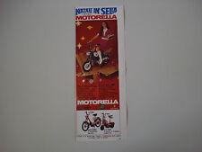 advertising Pubblicità 1968 MOTORELLA BENELLI MOTOBI
