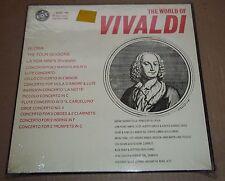 THE WORLD OF VIVALDI Cassado/Rampal/Linde -  Vox VSPS 13M SEALED