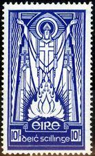 Ireland 1945 10s Dp Blue SG125 Very Fine MNH