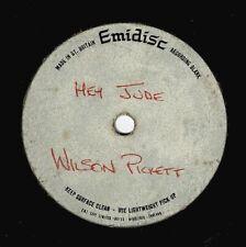 WILSON PICKETT Hey Jude AMEN CORNER If Paradise Is Half As Nice Emidisc Acetate