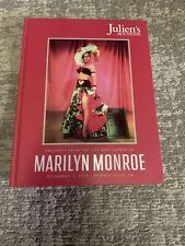 Marilyn Monroe Book Juliens Auctions November 1, 2019