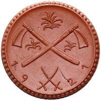 OSTSACHSEN - Münze - 5 Mark 1921 - Meissen - Porzellan braun