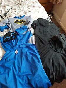 boys batman dress up outfits 7-8 years