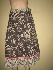 Fat Face Calf Length Hippy, Boho Floral Skirts for Women