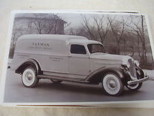 1938 DODGE PANEL TRUCK HUMP BACK   11 X 17  PHOTO  PICTURE