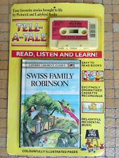 Pickwick Tell-a-Tale Ladybird Audio Cassette / tape book SWISS FAMILY ROBINSON