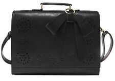 ECOSUSI  Faux Leather Laptop BagBriefcase/Crossbody/Messenger Bag