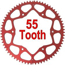 55T Tooth #35 Chain Split Sprocket Two 2 Piece Gear Drift Trike Go Kart Racing