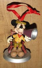 Disney Store Mickey Mouse Studio Figurine Tree ornament bauble Christmas