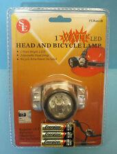 SUPER BRIGHT 1 WATT - WIDE BEAM LED HEAD OR BIKE LAMP    #SE-FL8201B