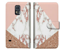 Marble Shape Stone Wallet Case Cover For Samsung Galaxy S5 - A031