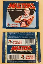 1983 MOTU HE-MAN PANINI MASTERS OF THE UNIVERSE: ONE (1) UNOPENED / SEALED PACK