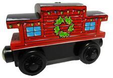 HOLIDAY CABOOSE - Thomas Wooden Railway Christmas Car Train E NEW - USA Seller