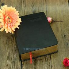 Weinlese dickes Papier Notizblock Leder Bibel Tagebuch Buch