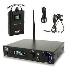 Pyle PDWMN49 UHF In-Ear Monitor & Receiver System, 100 Selectable Frequency