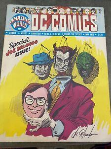 1975 MAY *AMAZING WORLD OF DC COMICS #6* SPECIAL JOE ORLANDO ISSUE! 91920