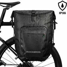 ROCKBROS Packtasche Gepäckträgertaschen Fahrradtasche 100% Wasserdicht  27L DHL