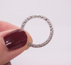 NEW TACORI Platinum diamond eternity band reduced over 58% buy it NOW!