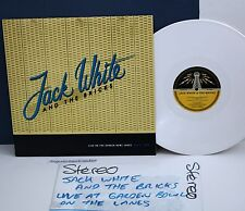 JACK WHITE & THE BRICKS 1999 LP WHITE VINYL N.MINT THE WHITE STRIPES VERY RARE