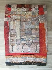 Vintage Hand Woven Wall Hanging Tapestry