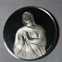 Rachel, The Genius of Michelangelo 1.26oz Sterling Silver Medal