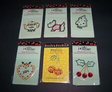 Mary Engelbreit Christmas Scrapbook Rhinestone Embellishments 6 Designs #77
