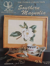 Vintage '99 Southern Magnolia CROSS STITCH The Floral Collection by JANET POWERS