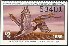 SD7    1989  South Dakota  State Duck Stamp       DSS