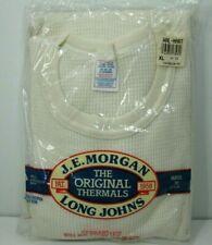 Morgan MensThaemal 3 Button Placket Shirt S,M,XL USA Made J.E