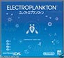 Used DS Electroplankton  NINTENDO JAPANESE IMPORT