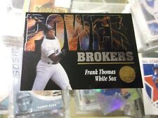 FRANK THOMAS 1994 Leaf Power Brokers #1 CHICAGO WHITE SOX