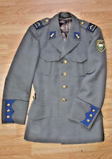 Swiss Police Uniform Jacket Tunic Canton Vaud Patches Insignia Switzerland Army