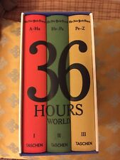 Taschen Box Set New York Times 36 Hours World 2015 Soft Cloth Covers LIKE NEW